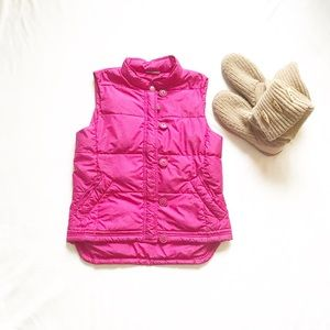 J. Crew down feather puffer vest